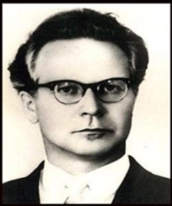 Foto vom jungen Konstatin Buteyko, dem Begründer der Buteyko-Atem-Methode